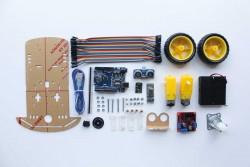 ARDUINO BLUETOOTH ROBOT ARABA KİTİ - Thumbnail